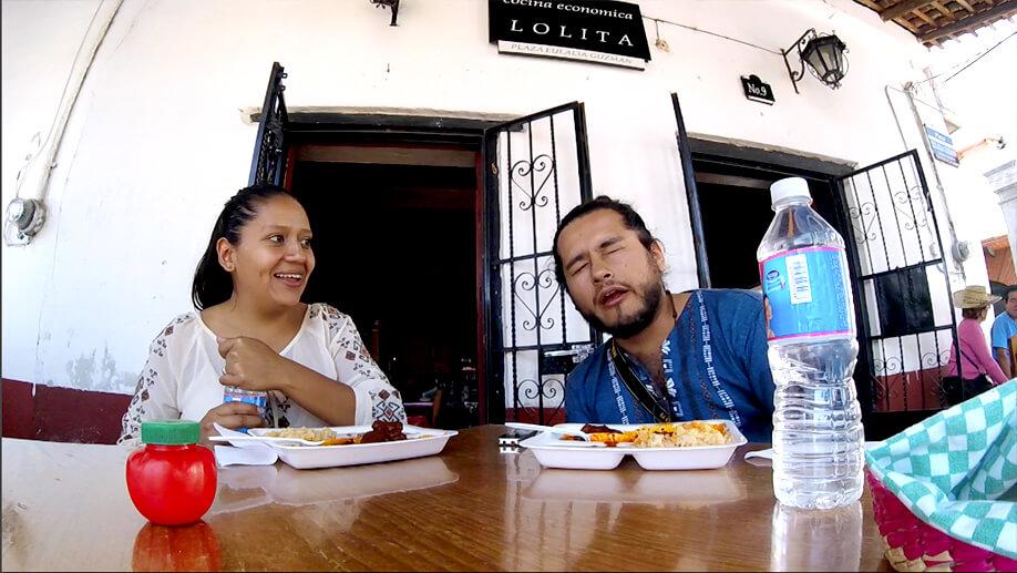 Cocina económica Lolita en Ixcateopan