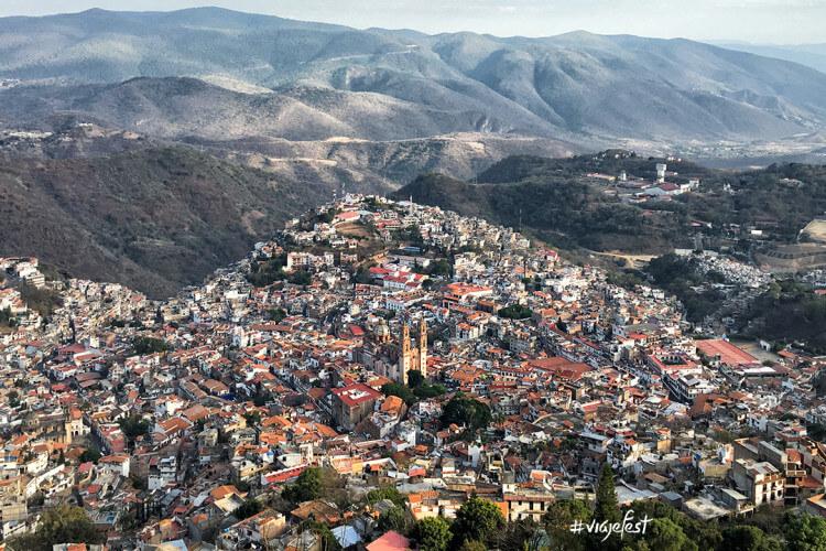 Foto panorámica de Taxco