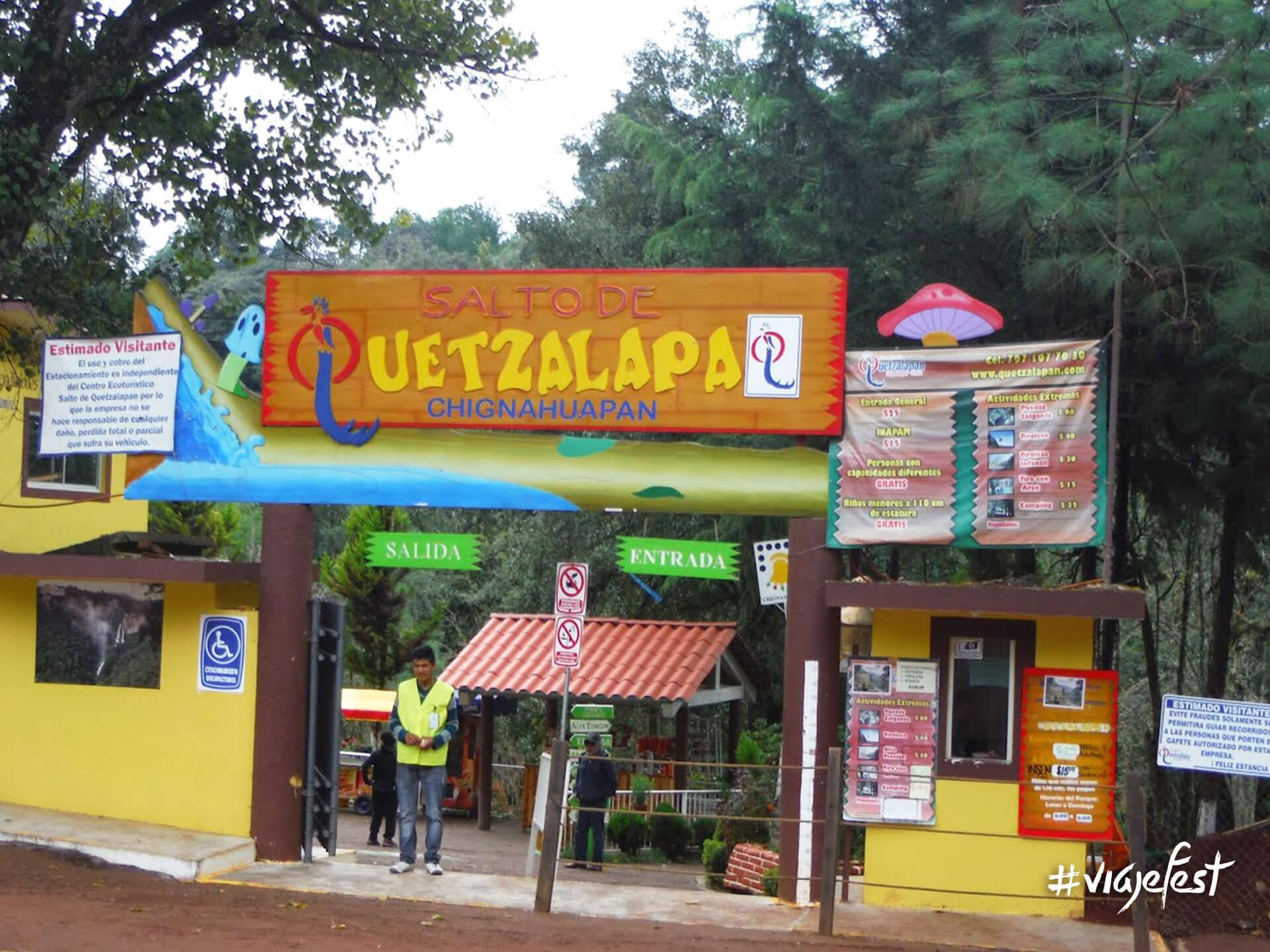 Cascadas Quetzalapan en Chiganhuapan Puebla