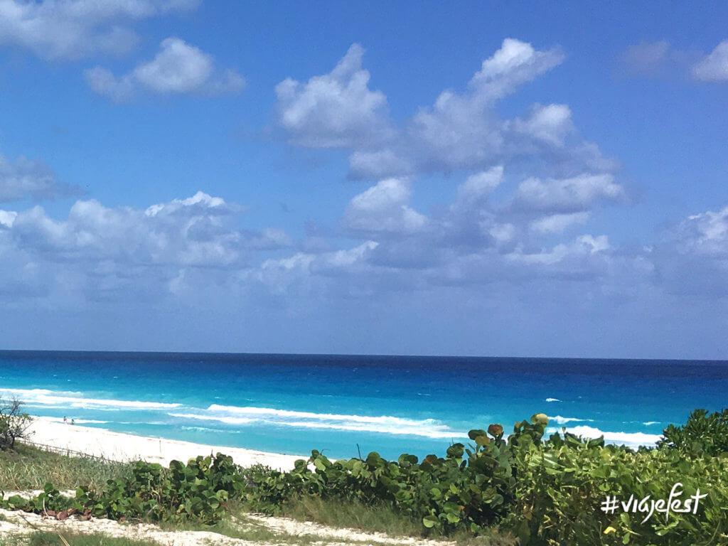 Excelente vista desde esta playa.