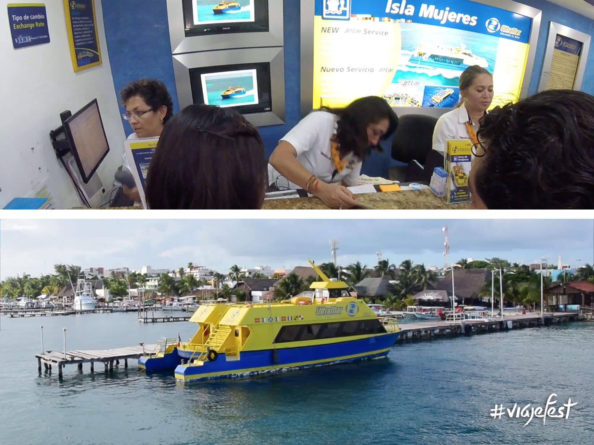 Ferry a Isla Mujeres