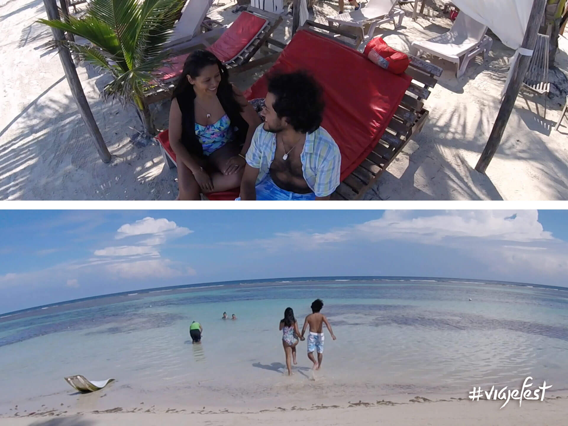 El mejor clubl de playa de Mahahual