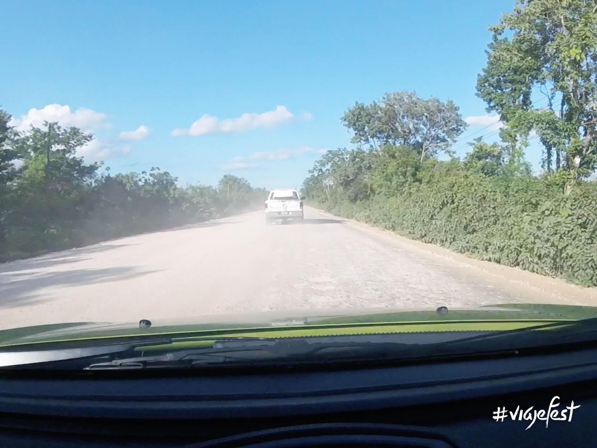 Carretera a Chiquilá