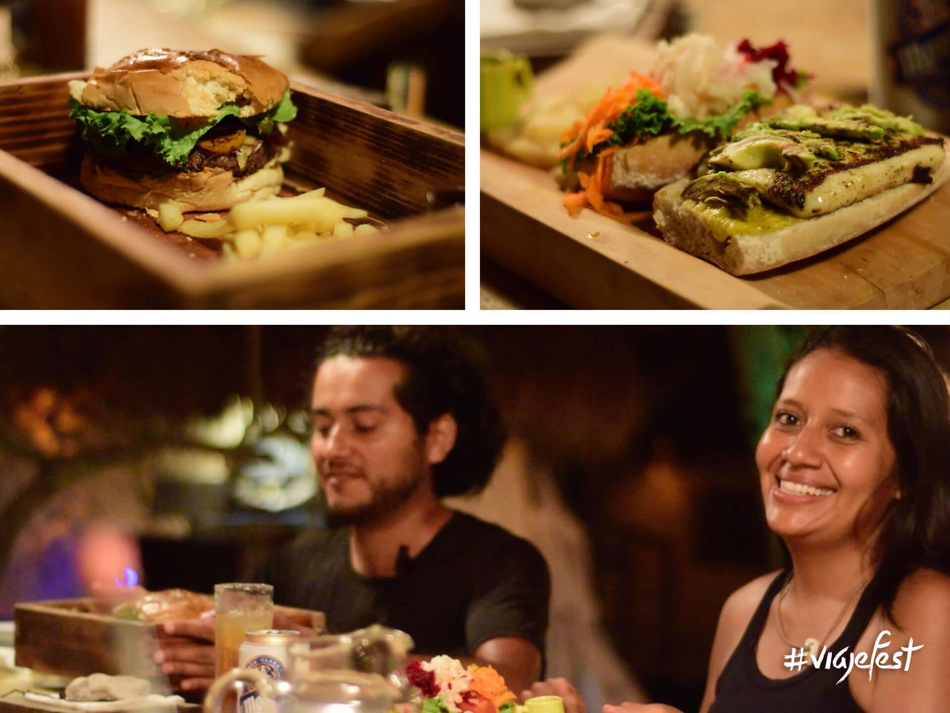 Cena en Playa Esperanza, Tulum