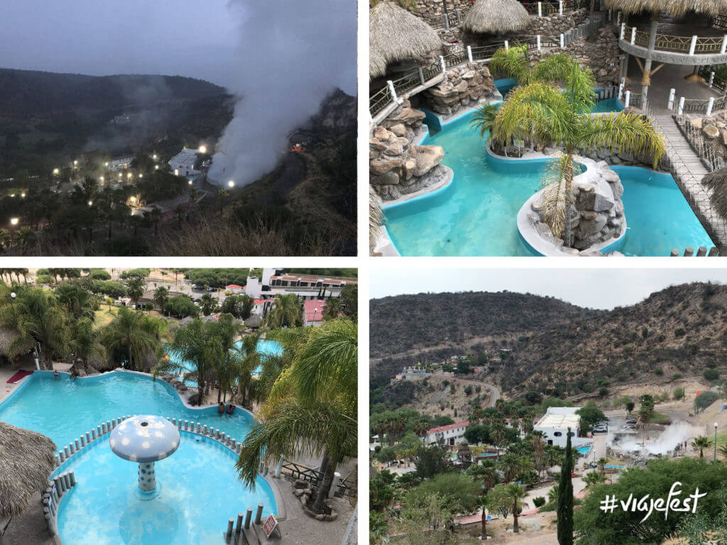Balneario de aguas hipertermales en Hidalgo