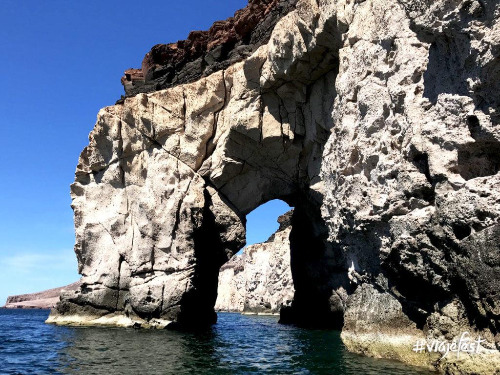 Arco en Isla Espíritu Santo