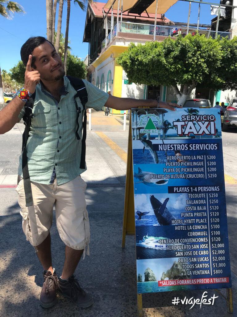Tarifas de Taxis en La Paz