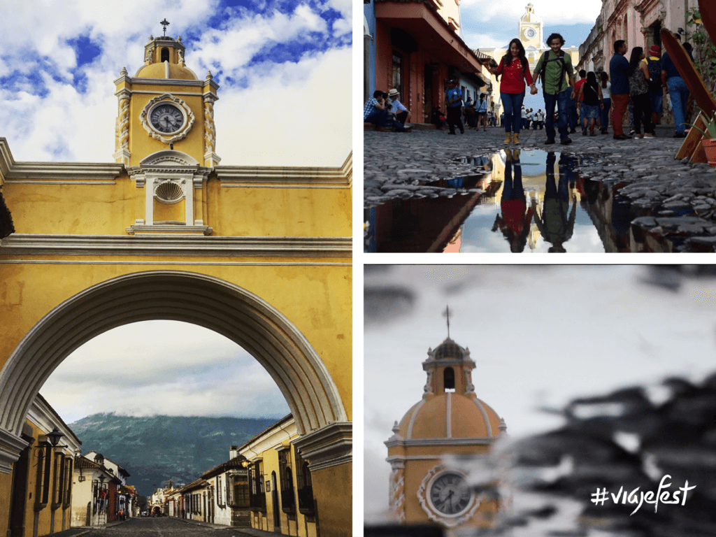 El Arco más famoso de Antigua Guatemala