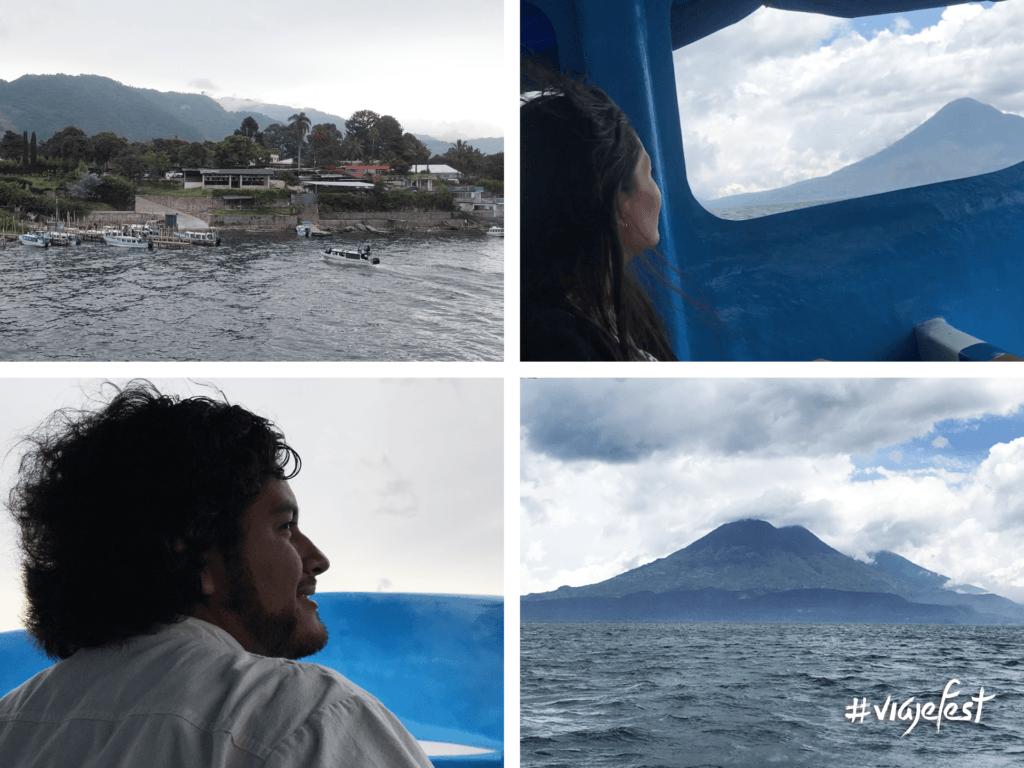 Toma una lancha para visitar San Juan la Laguna