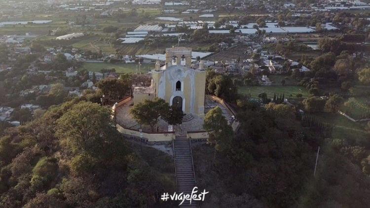 Cerro de San Miguel en Atlixco Puebla