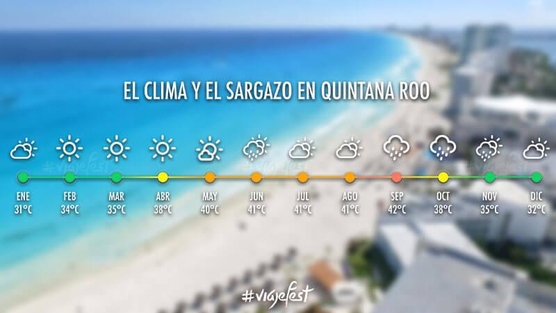 Cuándo es la temporada de sargazo en Quintana Roo