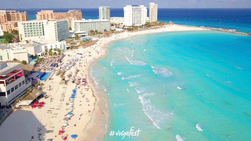 Sargazo en Cancún