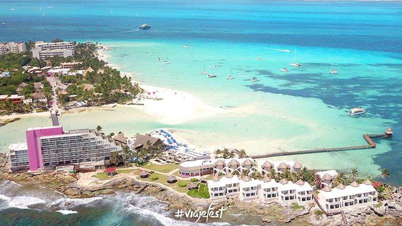 ¿Hay sargazo en Isla Mujeres?