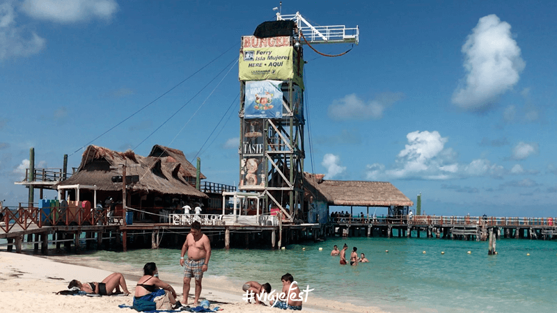 Playa Tortugas en Cancún Quintana Roo
