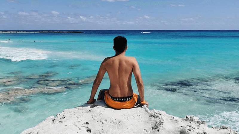 Una de las mejores vistas para tomarse fotos en el Caribe Mexicano