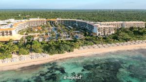 Sargazo en la Riviera Cancún