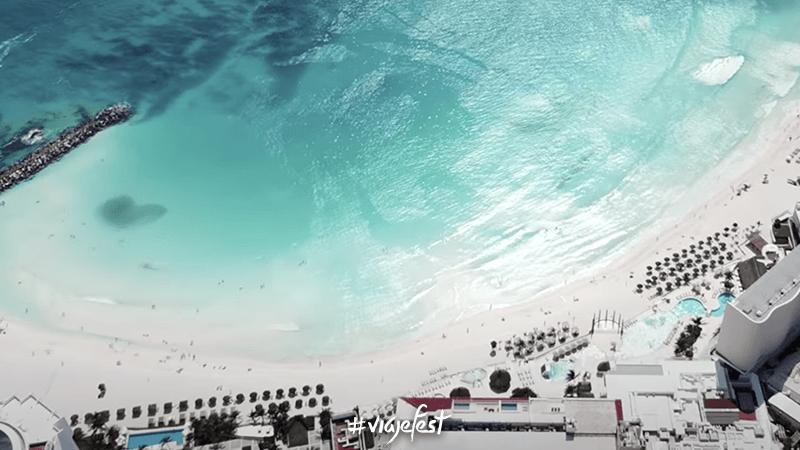 Playa Gaviota Azul, una de las mejores playas públicas de Cancún