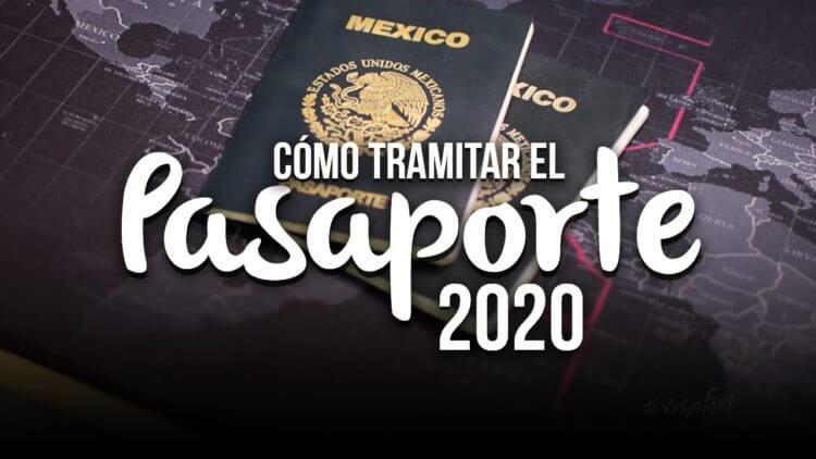Cómo tramitar el pasaporte por primera vez, 2020
