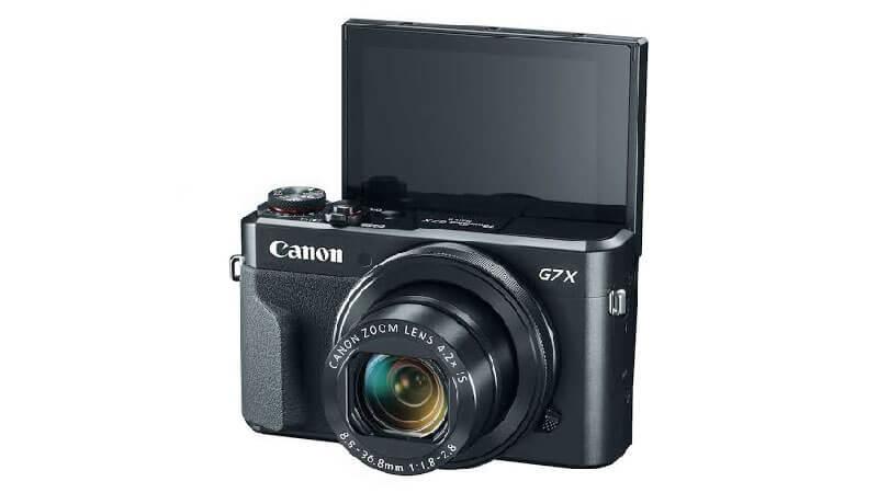 Cámara Canon G7x MarkII ideal para hacer vlogs