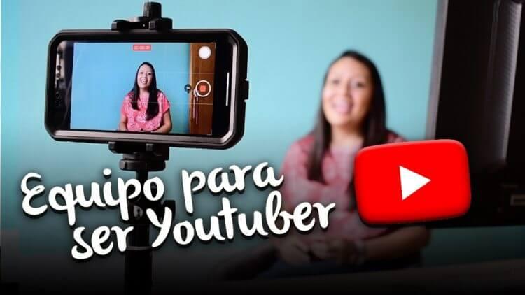 Equipo para ser Youtuber. Kit para grabar con celular