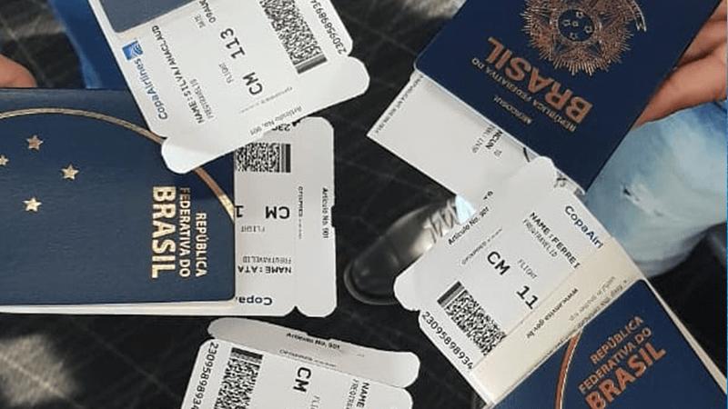 Manten tu pasaporte y boleto siempre a la mano