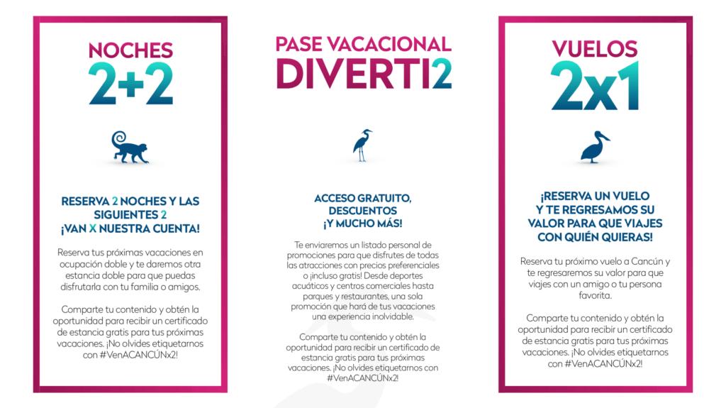 Campaña #VenACancúnx2 de la AHPQ