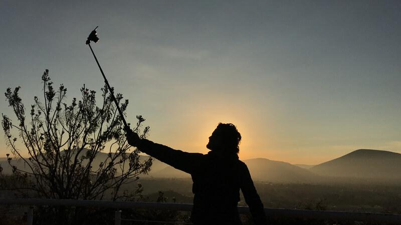 Amanecer desde el Cerro San Miguel