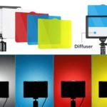 Los filtros y difusores incluidos son muy útiles en la creación de videos para Youtube