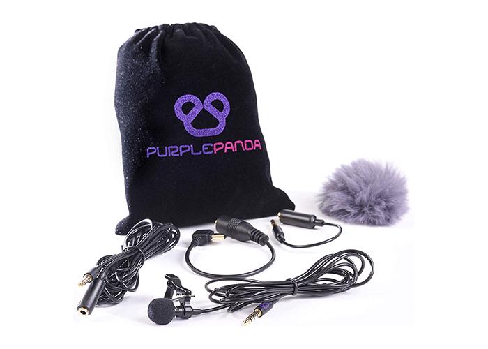 Micrófono de solapa para youtube