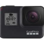 Vista frontal de la GoPro