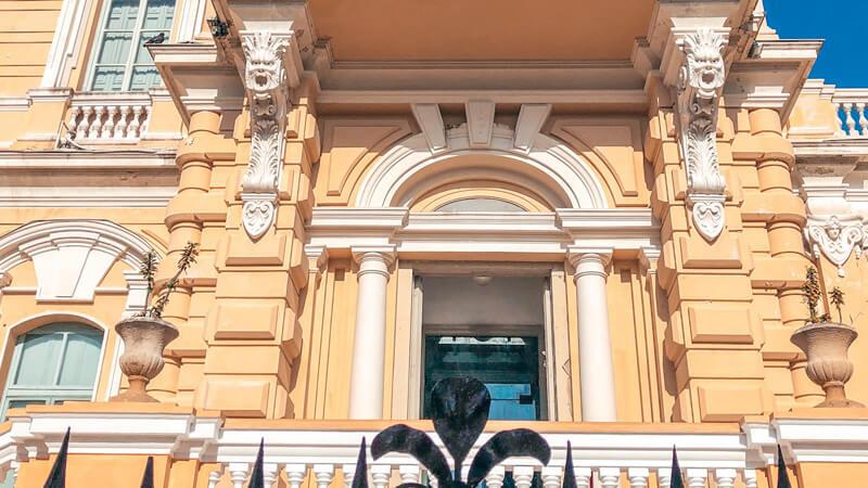 Fachada Palacio Cantón Mérida