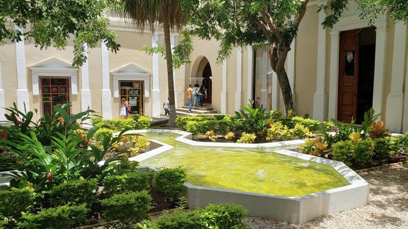 Jardín Casa Montejo en Mérida, Yucatán
