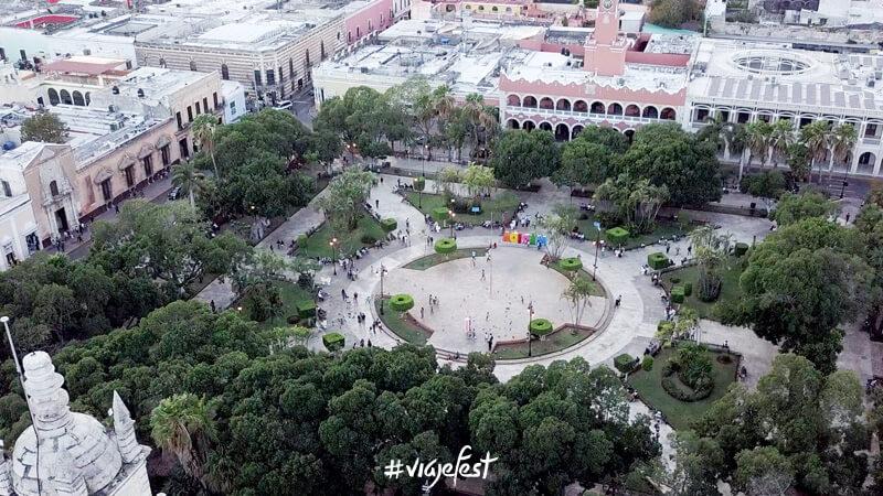 Zócalo de Mérida