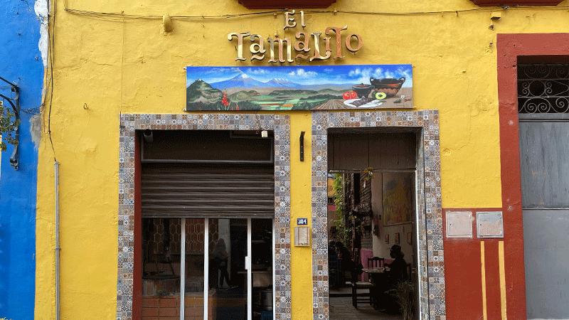 El Tamalito, restaurante en Atlixco Puebla