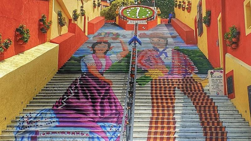 El mural más grande de Atlixco