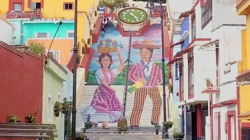 La Escalera Ancha